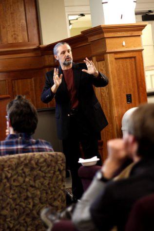 Lecturer promotes public works