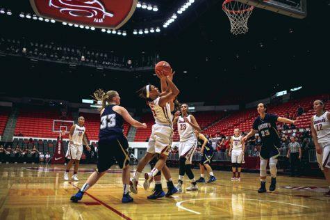 Pursuing perfection; Cougar women host Colorado