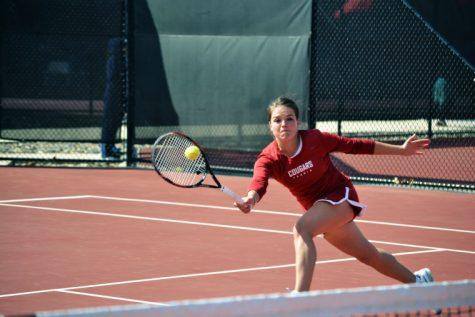 WSU women's tennis resumes Pac-12 play this weekend