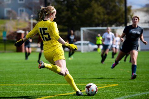 Battle of the sexes; WSU women's soccer faces off against men's club