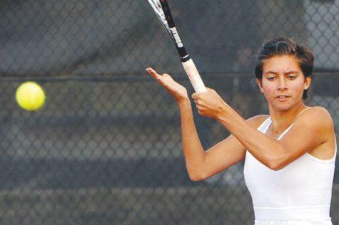 Women's tennis wraps up the fall season in California