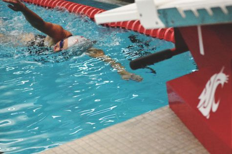 Protect the pool; Swimming hosts Arizona in first home meet