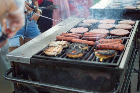 Gals get grilling