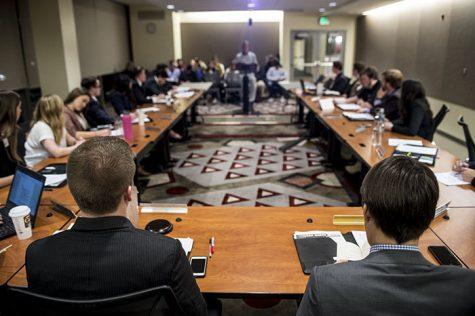 Senate hears proposal for increased health fee