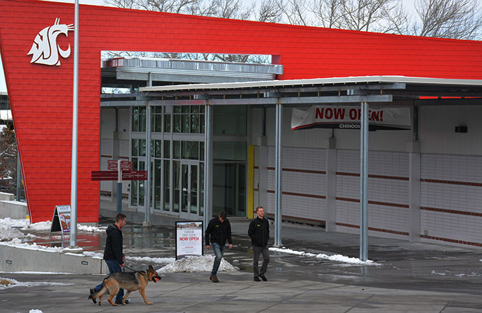 The first floor of the Chinook Student Center opened Feb. 21.