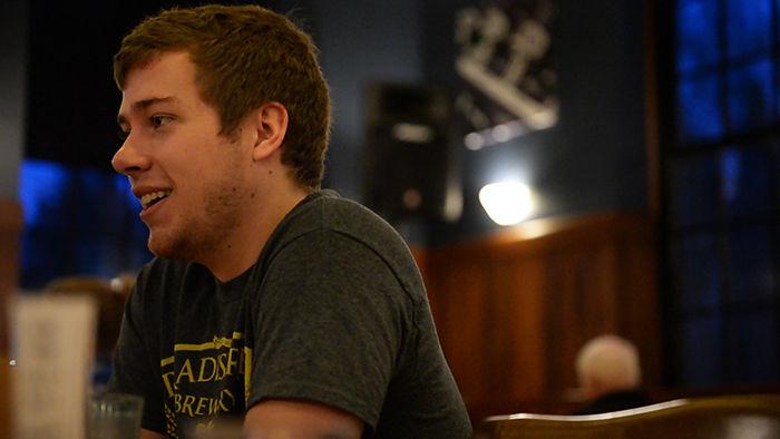 Jonny Handy talks about Paradise Creek Brewery's beginnings in 2010.