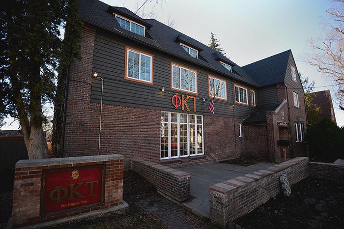 The Phi Kappa Theta house.