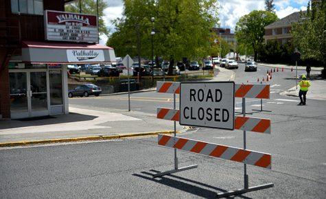 Road resurfacing may cause traffic delays