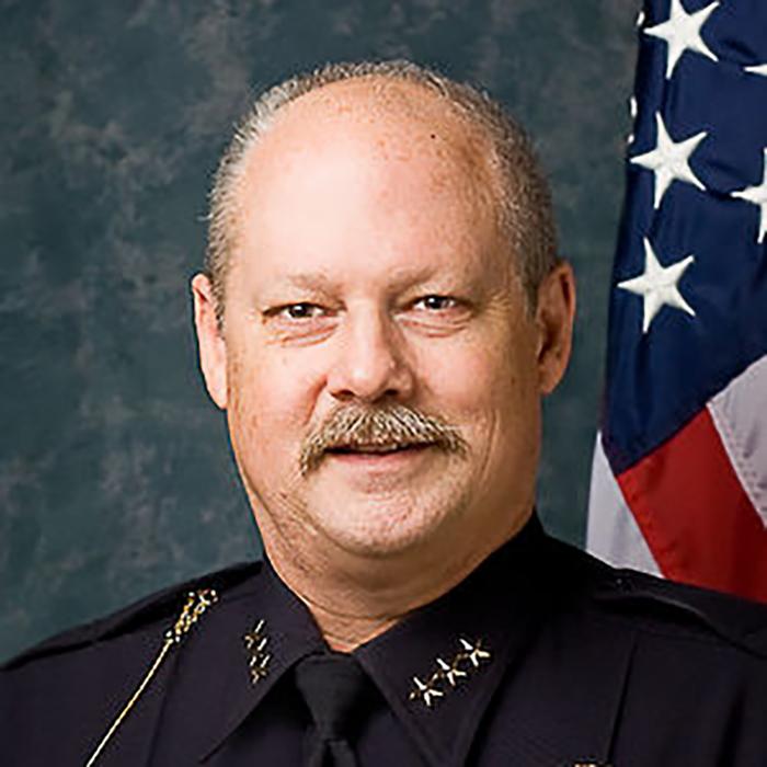 Pullman Police Chief Gary Jenkins