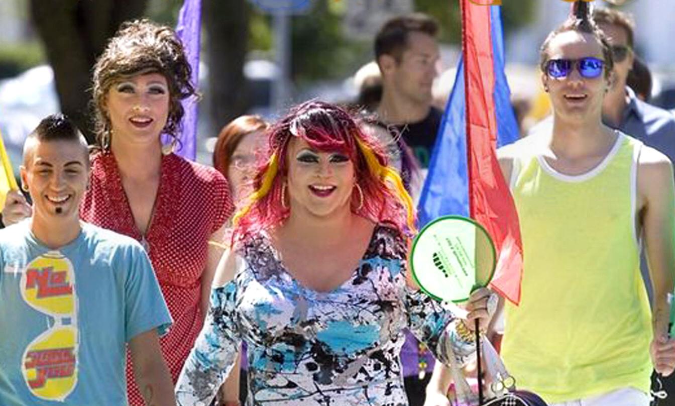 Patrons+celebrate+in+colorful+attire+at+the+Palouse+Pride+Festival+in+2016.