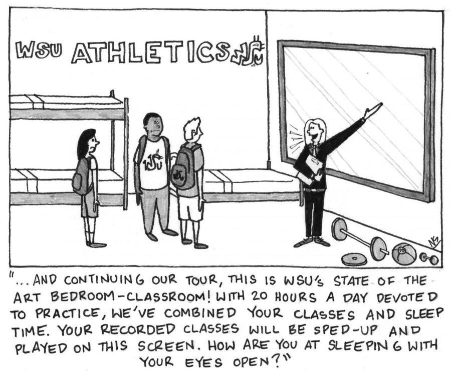 Cougar athletes struggle to balance school, sports