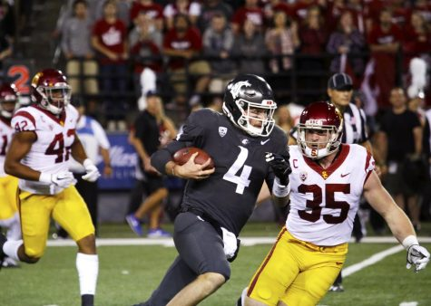 WSU comes in at No. 8 in this weeks power rankings as USC moves up to No. 1.