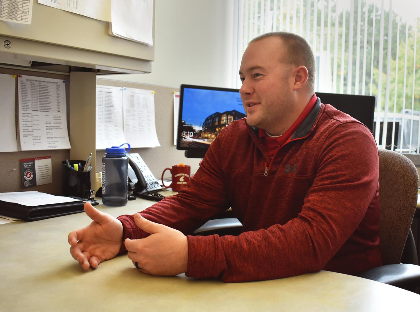 DJ Mackie explains UREC's efforts to meet students' high expectations.