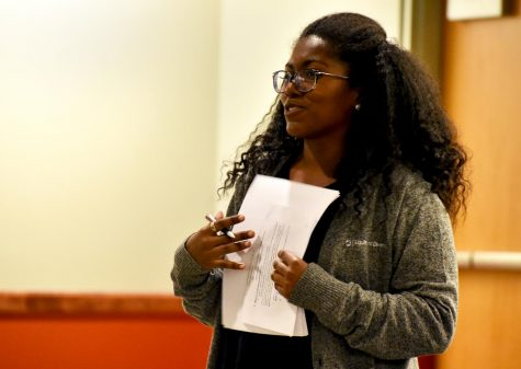 Cultural competency resolution presented at ASWSU meeting