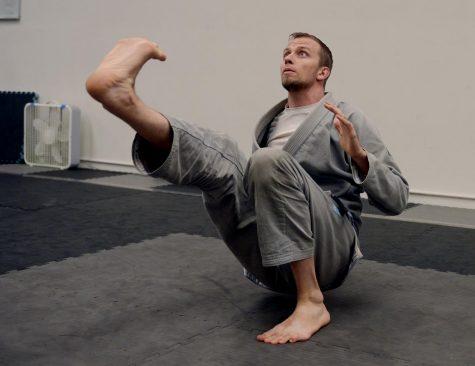 Grad student runs jiu-jitsu studio