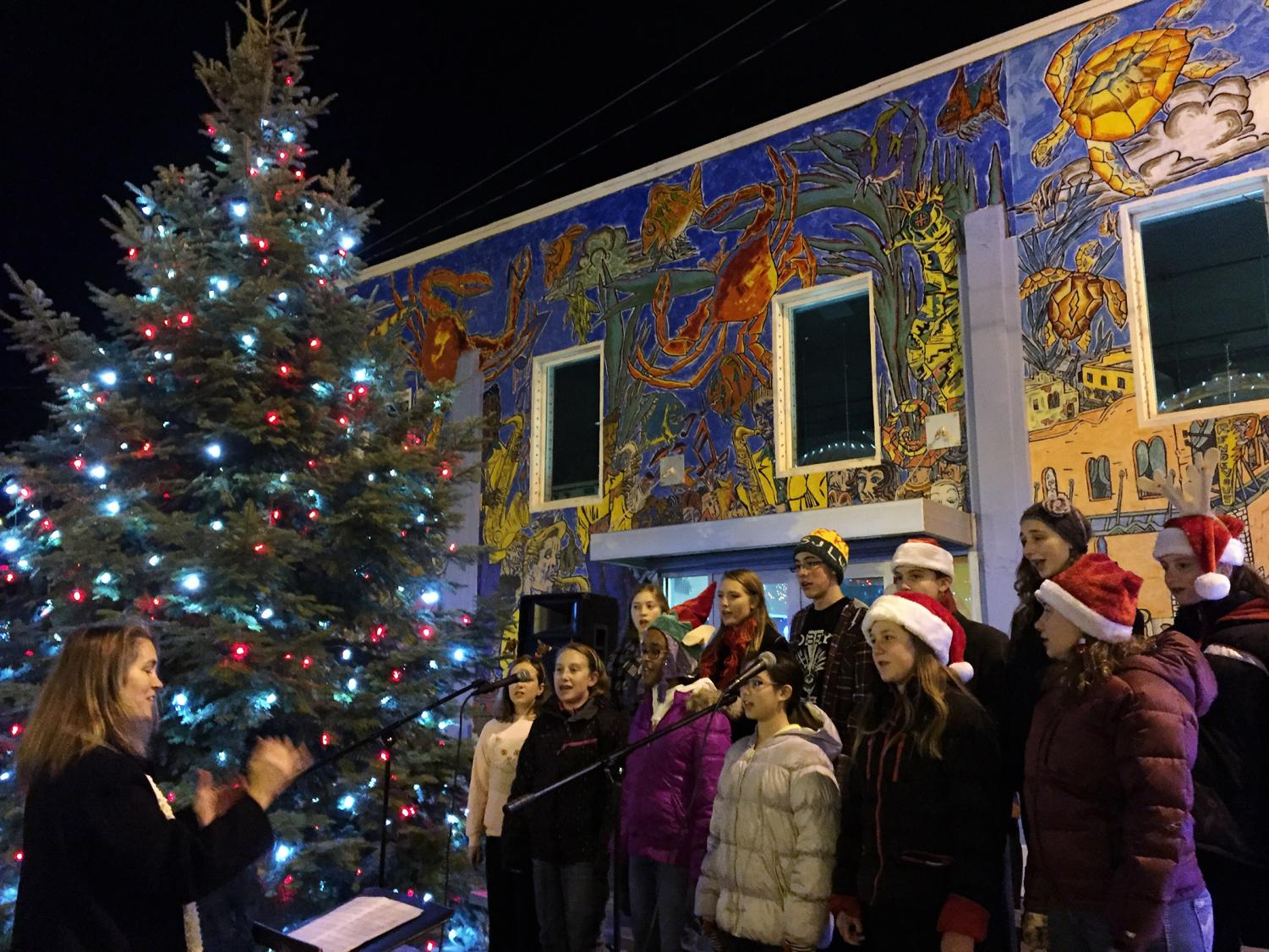 The 2016 Holiday Fest in downtown Pullman featured choir performances. This year, they are including more local businesses  and featuring the local band Paradox at Rico's Public House.