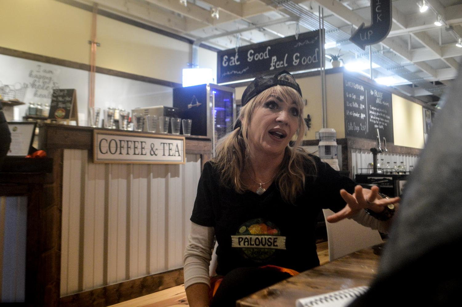 Palouse Juice co-owner Toni Salerno-Baird explains the challenges that came with opening her first business.