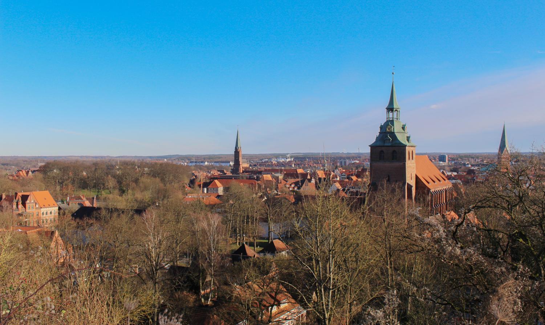 Columnist Lauren Ellenbecker's temporary housing overlooks Luneberg, Germany.