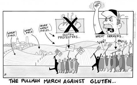 Student starts movement gluten-free Pullman movement