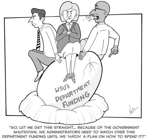 Admin shutdown government to solve deficit