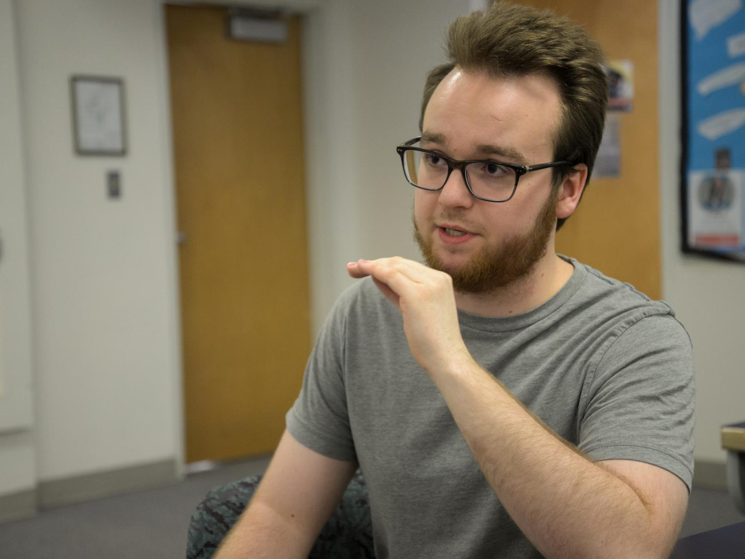 Harrison Wisti, a sophomore architecture & Construction Management major, discusses the high cost for students living in dorms. He says that WSU could spend students' money better.