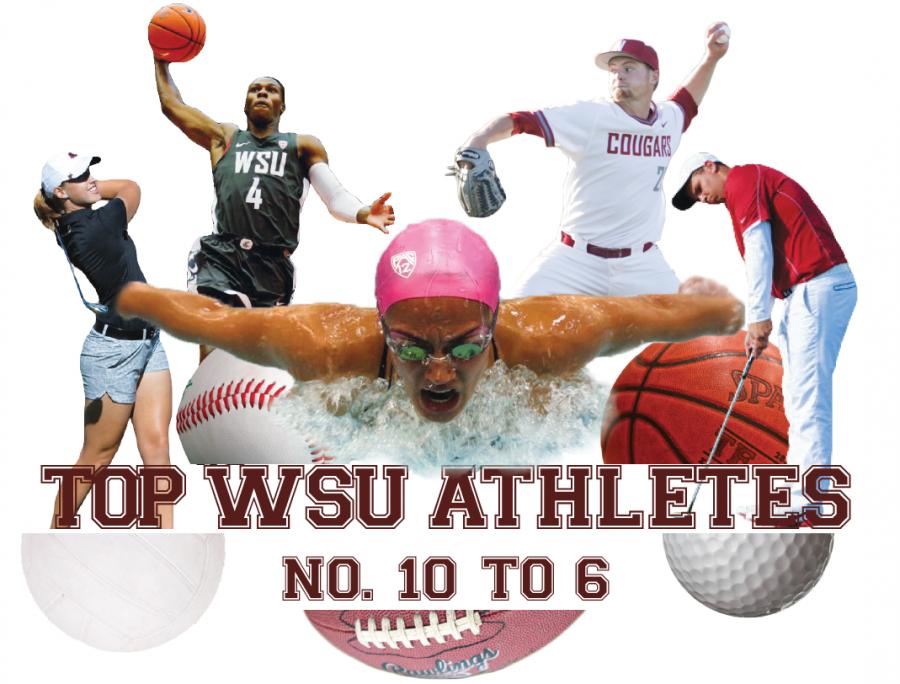 Top WSU athletes: No. 10 to 6