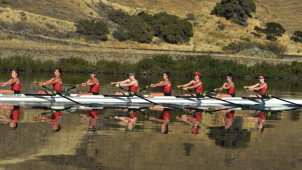 WSU rowing practices prior to its race at the Clemson Invitational this weekend.