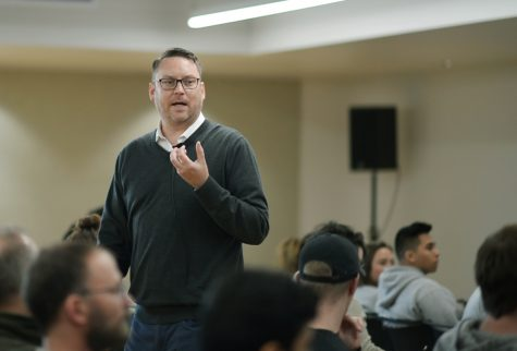 Author talks about book on agriculture, beer