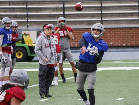 Football holds second spring scrimmage