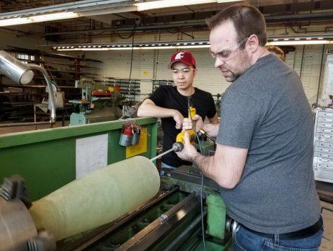 Engineering students showcase capstone tech