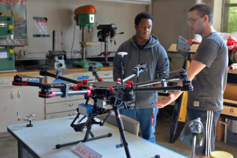 Aerospace club builds hydrogen powered drone