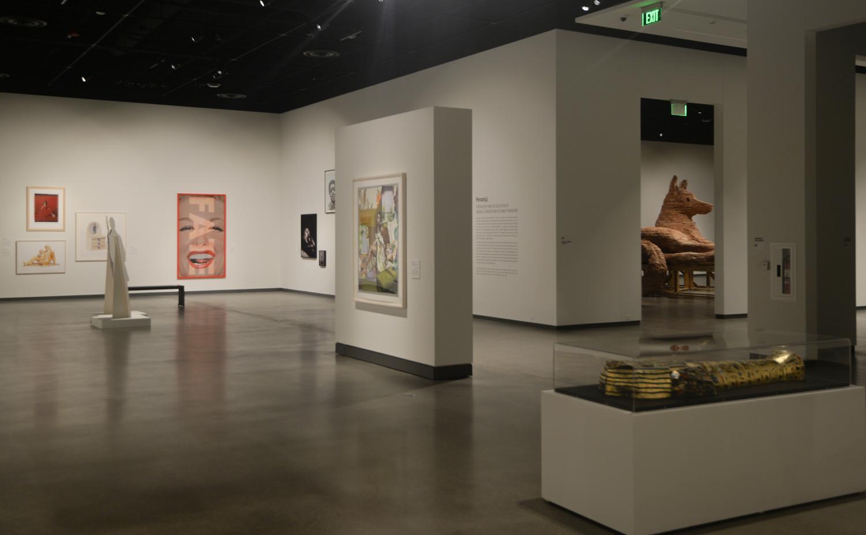 Self*ish exhibit opened at WSU Jordan Schnitzer Museum of Art yesterday morning.