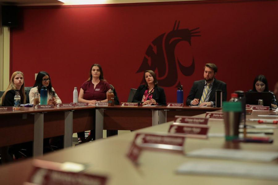 ASWSU moves to confirm Keira Tolbert as election board chair at the meeting Wednesday in the CUB.