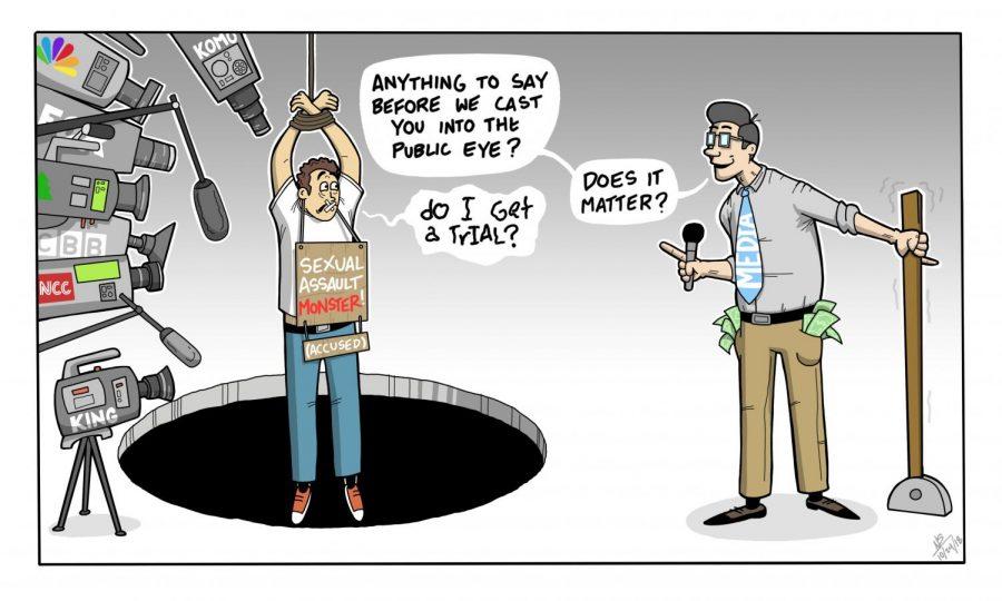 Editorial Cartoon: Media condemnation – The Daily Evergreen