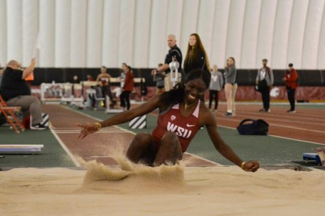 Track and field hosts second indoor meet of year