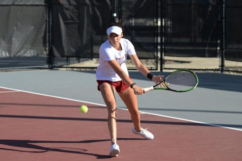 Tennis returns home to compete in pair of matches