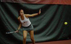 Tennis battles pair of familiar foes Friday in Pullman