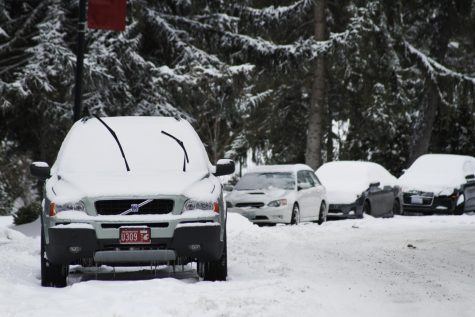 City advises residents to avoid street parking during snowstorm