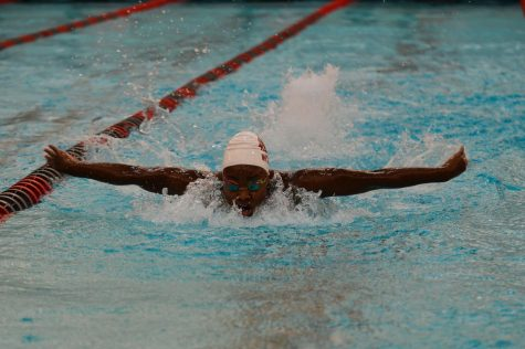 Cougar swim posts handful of lifetime bests Friday at Pac-12 Championships