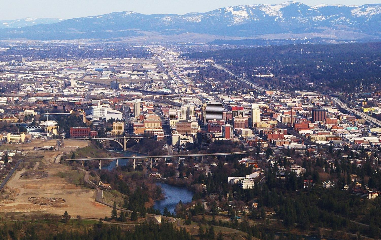 Spokane is the second-largest city in Washington, and it's only an hour-and-a-half from Pullman.
