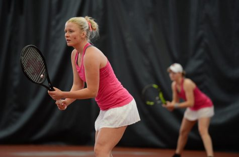 Tennis looks to extend three-match win streak