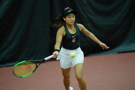 Cougar tennis dominates Ducks in Hollingbery