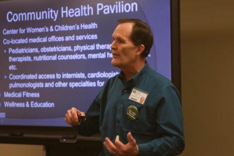 Hospital CEO, WSU ROAR presents to City Council