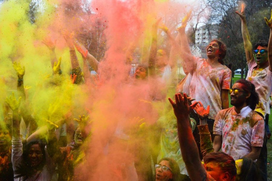 Holi+is+a+traditional+Indian+festival+of+love+and+color%2C+typically+celebrated+in+spring.+WSU+Indian+Students%E2%80%99+Association+is+hosting+its+2019+Holi+festival+from+11+a.m.+to+noon+Sunday+at+Reaney+Park+and+all+students+are+welcome+and+encouraged+to+attend.+