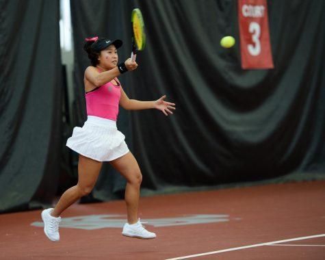 Tennis hosts second Pac-12 series against Arizona schools