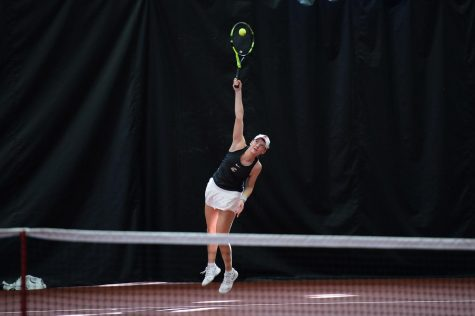 Tennis faces Stanford, Cal on California road trip