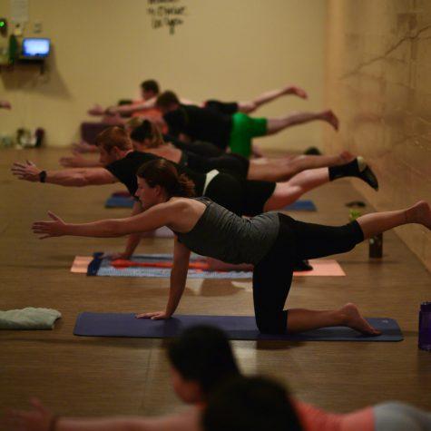Anthropologist doubles as yoga teacher