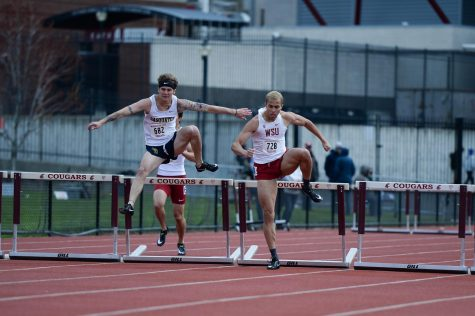 Cougs fall to rival Huskies in dual meet