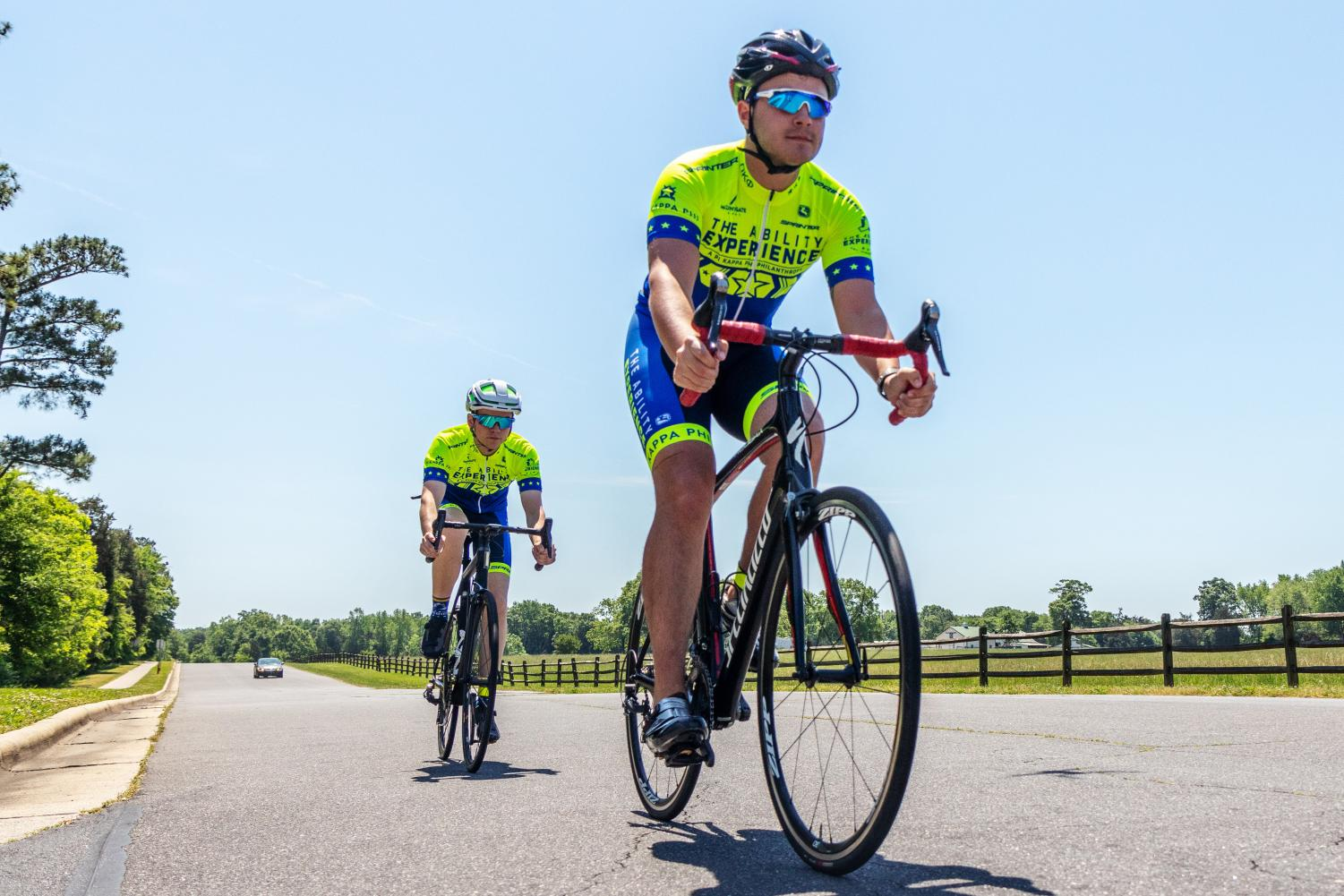 The Journey of Hope is organized by The Ability Experience. Pi Kappa Phi Members participate in the in the cross country ride to raise awareness and money for people with disabilities.