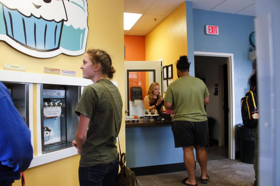 Sweet Mutiny opens its doors in its new building Wednesday. Ainslee Marcus, a baker for Sweet Mutiny, said the move was to create a
